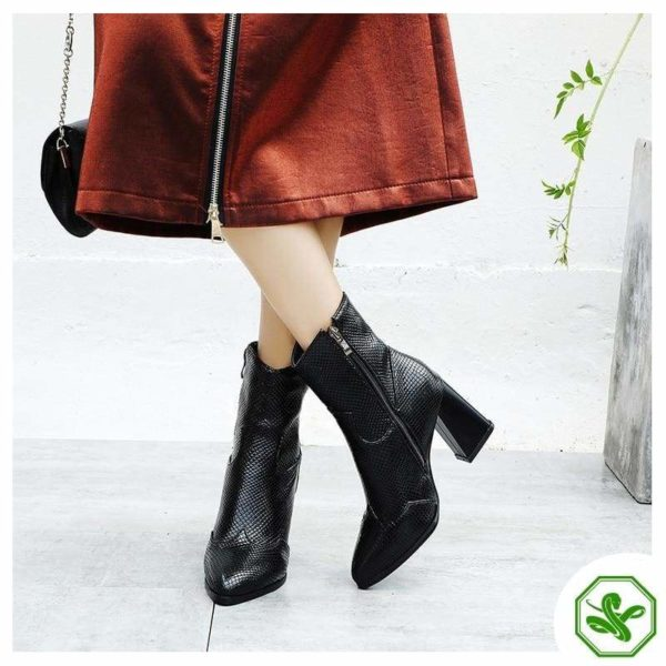 Black Snakeskin Boots 3