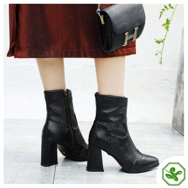 Black Snakeskin Boots 2