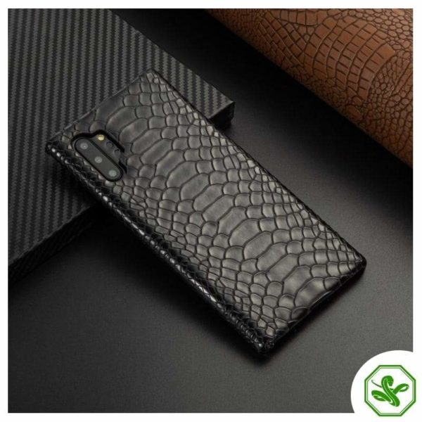 Black Snakeskin Samsung Phone Case