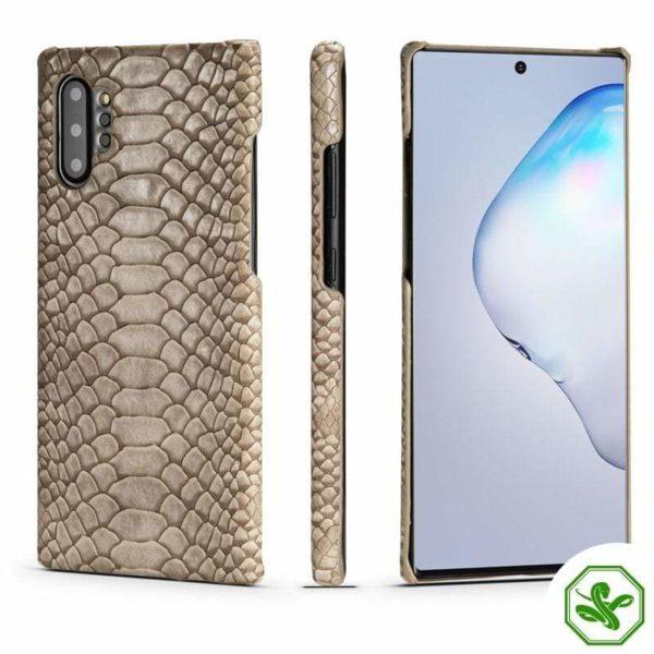 Snakeskin Beige Samsung Phone Case