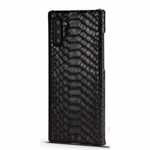 Black Snakeskin Samsung Case Phone