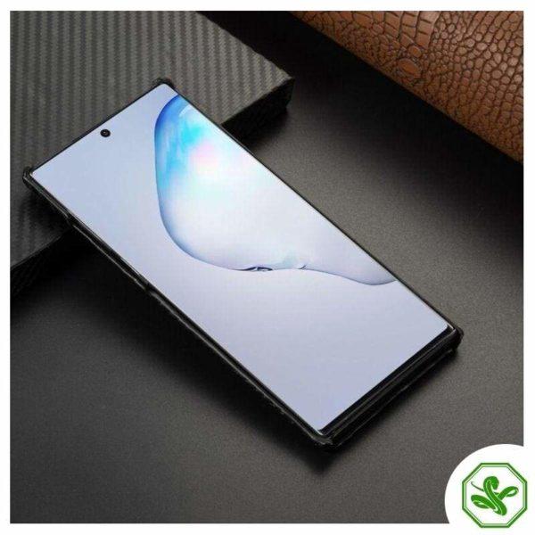 Black Snakeskin Samsung Phone Case Front
