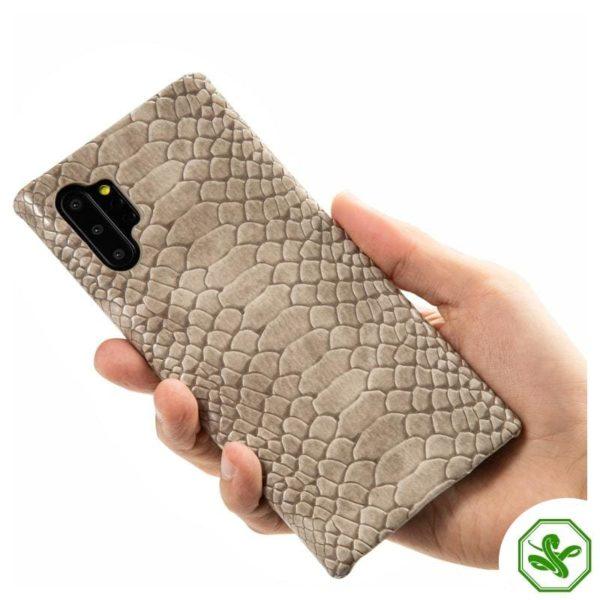 Beige Snakeskin Samsung phone Case