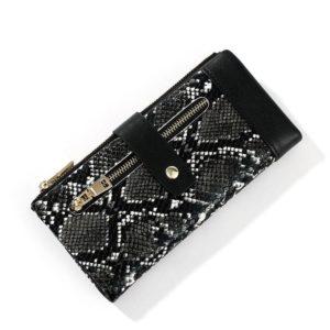 Black Snakeskin Wallet