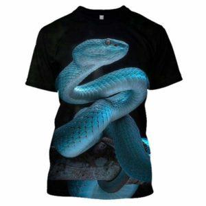blue coral snake shirt