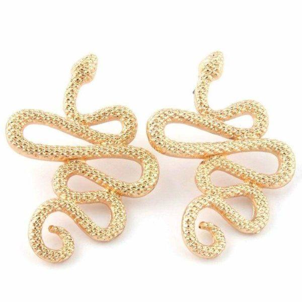 snake cuff earrings