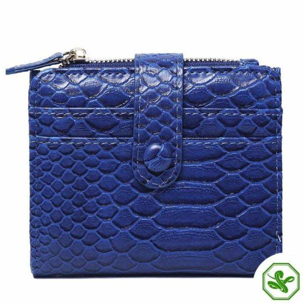 Snake Wallet Blue