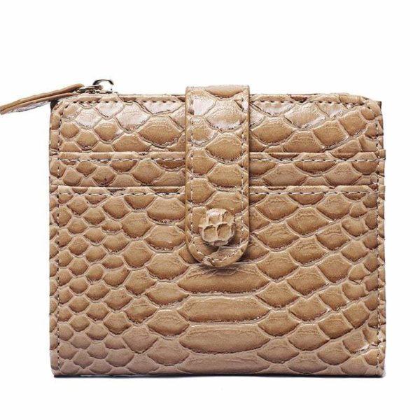 Brown Snakeskin Wallet
