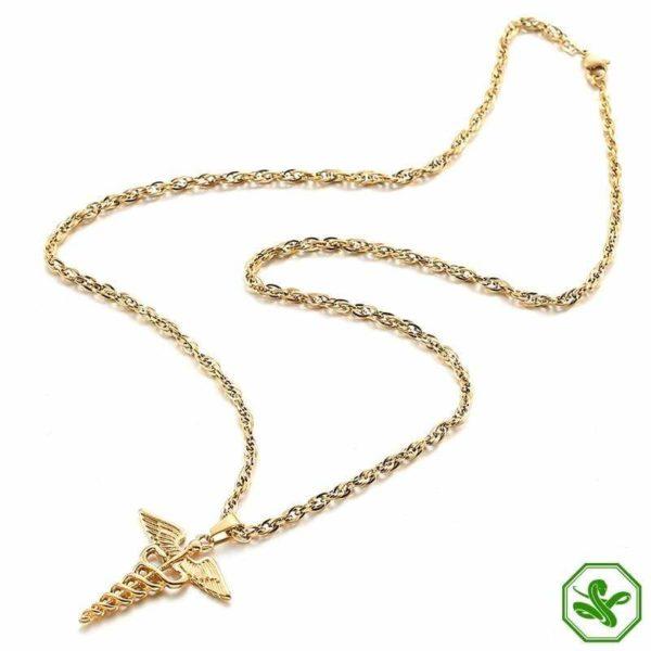 Caduceus Necklace | Snake Dream 5