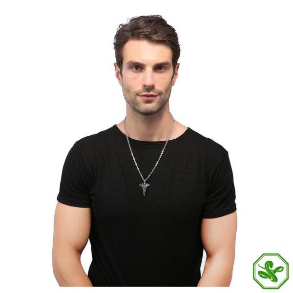 Caduceus Necklace | Snake Dream 9