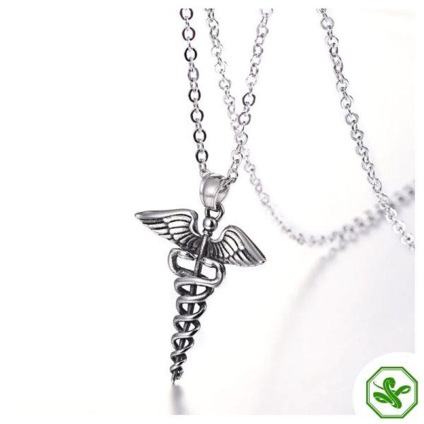 Caduceus Necklace | Snake Dream 10