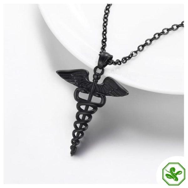 Caduceus Necklace | Snake Dream 13