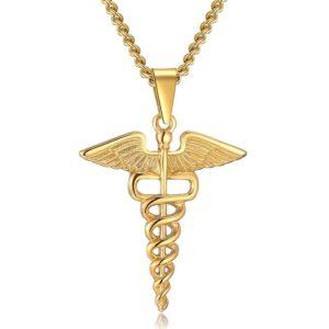 Caduceus Necklace | Snake Dream 1