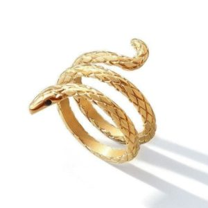 cheap-coiled-snake-ring 1