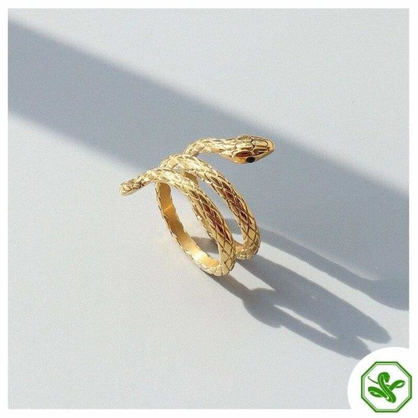 cheap-coiled-snake-ring 2