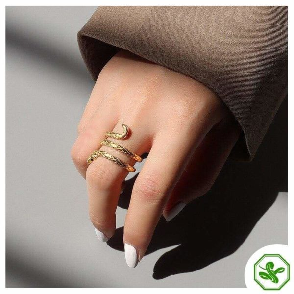 cheap-coiled-snake-ring 4