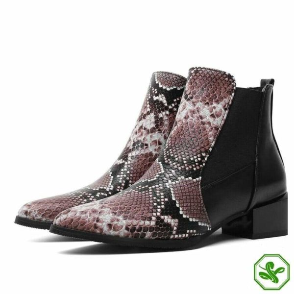 Chelsea Snake Boots 3