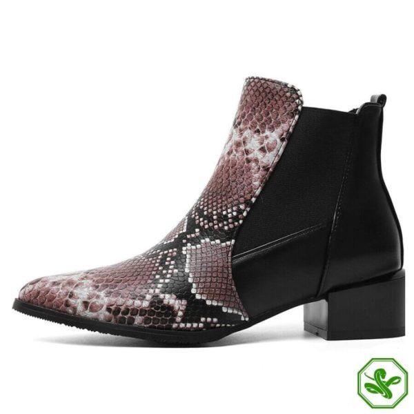 Chelsea Snake Boots 6