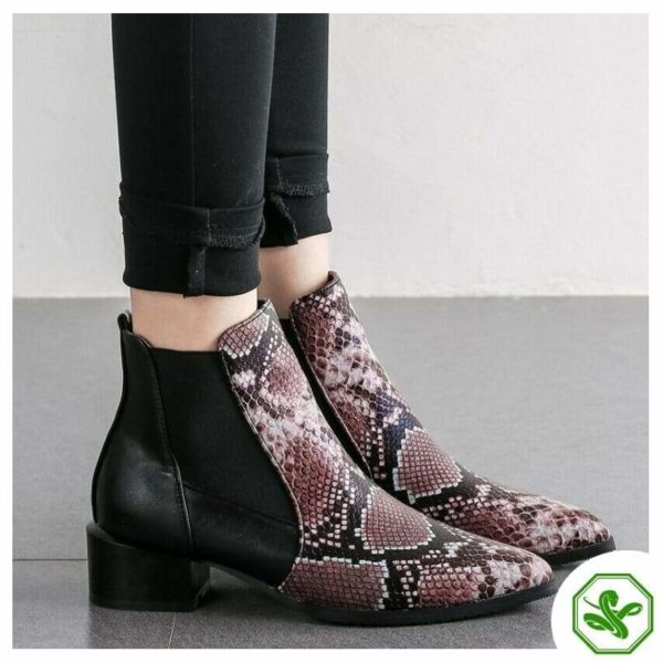 Chelsea Snake Boots 2