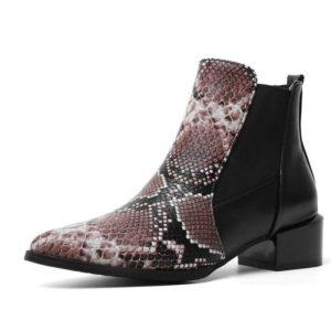 Chelsea Snake Boots 1