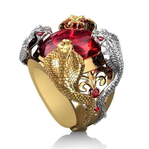 cobra-ring-gold 1