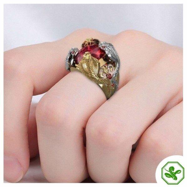 cobra-ring-gold 3