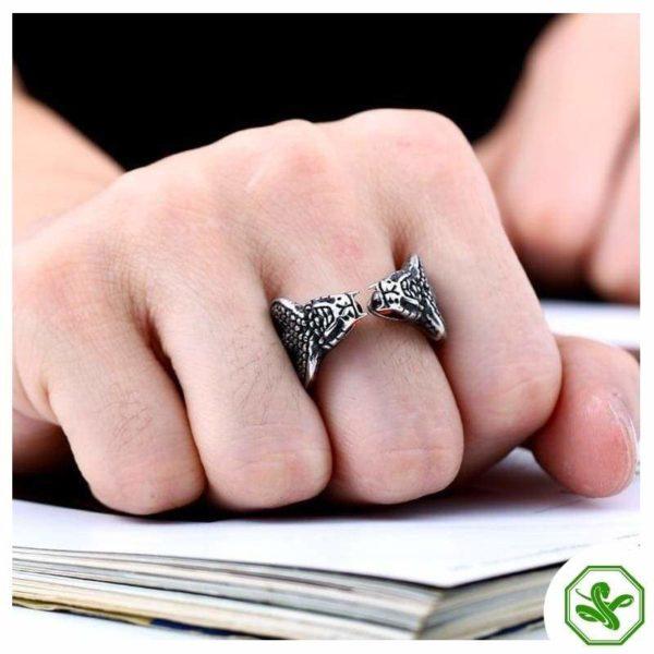 cobra-ring-silver 5