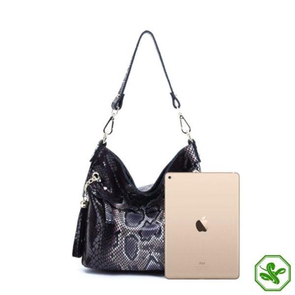 cobra skin bag for woman