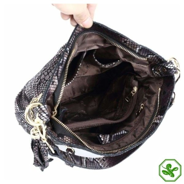 cobra skin bag women