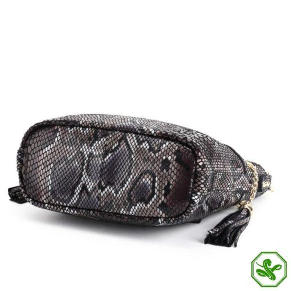 cobra skin bag for women