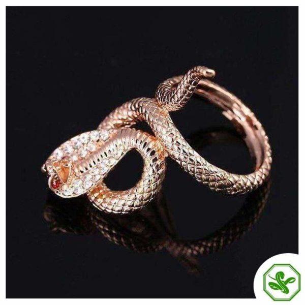 Cobra Snake Ring 4