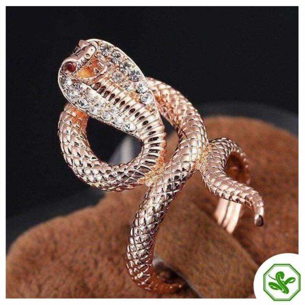 Cobra Snake Ring 3