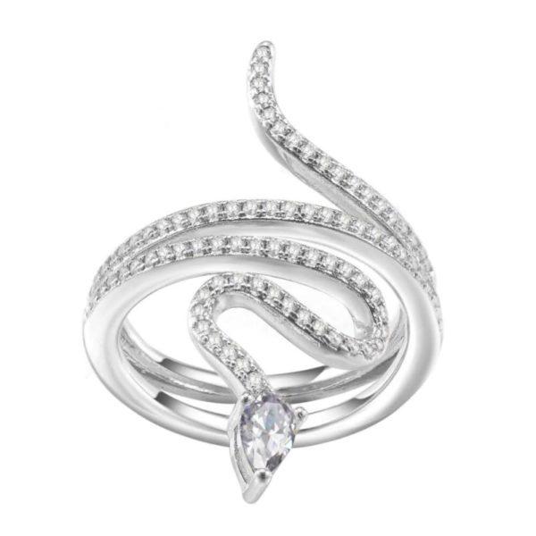 Coiled Snake Ring 1