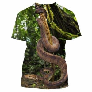 coiled snake shirt