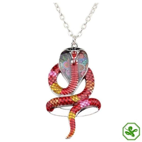 Colored Snake Necklace 2