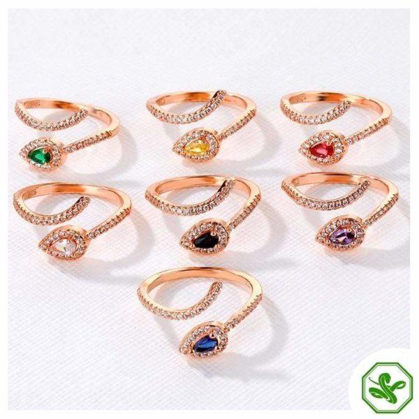 Copper Snake Ring 4