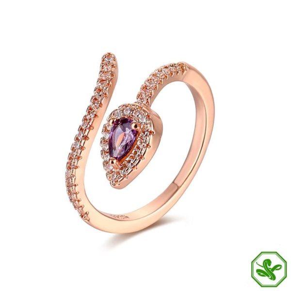 Copper Snake Ring 9