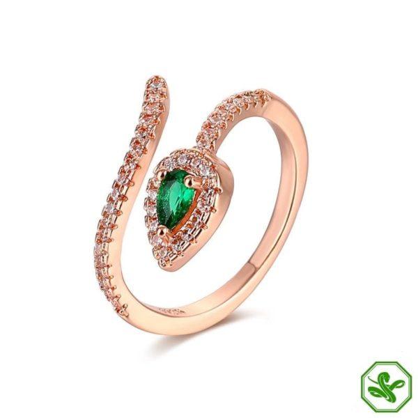Copper Snake Ring 3