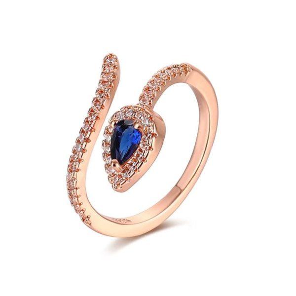 Copper Snake Ring 1