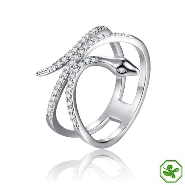 Dark Rose Jewlery Snake Ring 4