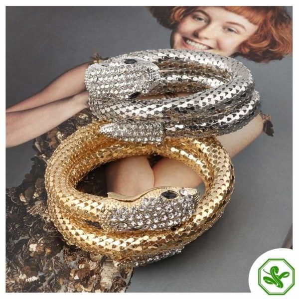 snake bracelets with diamonds for woman