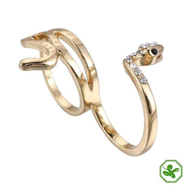 double-finger-snake-ring 3