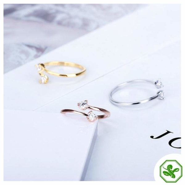 Double Snake Ring 3