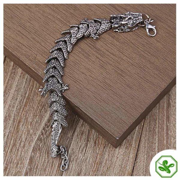 dragon snake bracelet for men