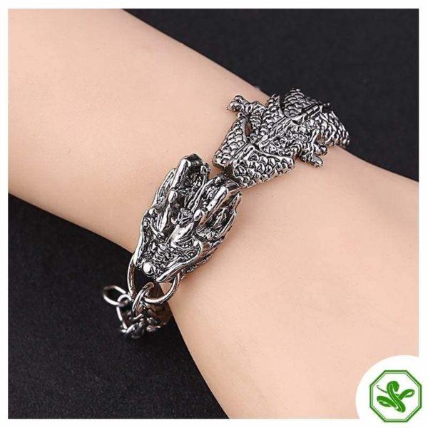 men snake bracelet