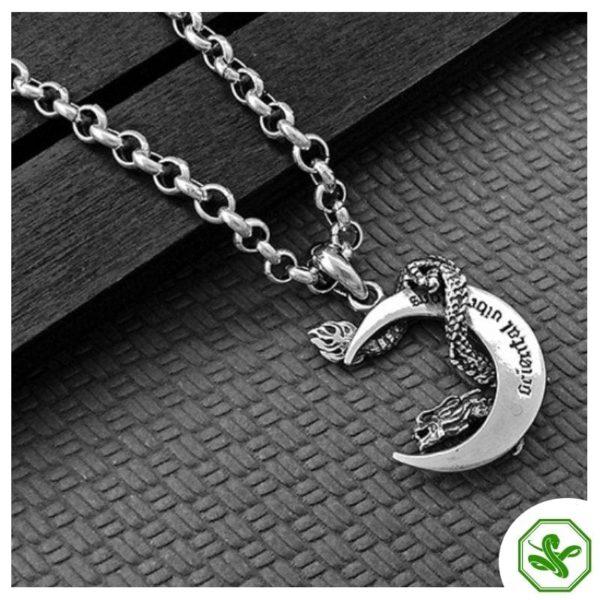 dragon snake pendant