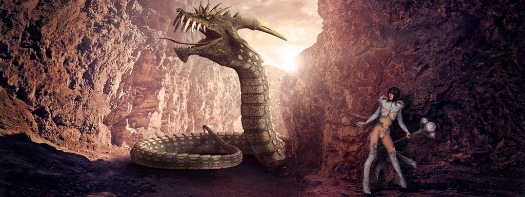 Eastern Dragon Snake