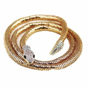 Flexible Snake Necklace 1