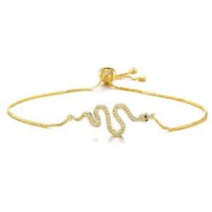 Gold Snake Bracelet 1