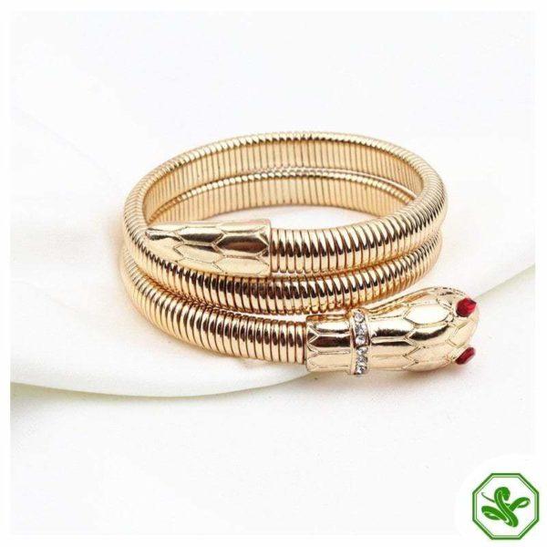 snake bracelet ruby eyes